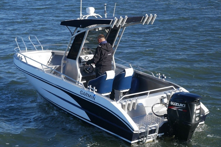 Model 630 BF – Agile and functional Big Fish boat