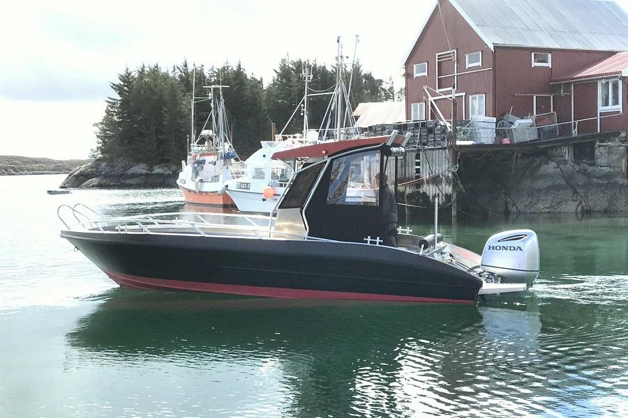 Model 730 BF – Big and powerful multi-purpose Big Fish boat